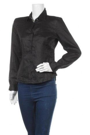 Дамска риза Vero Moda, Размер M, Цвят Черен, Рамия, Цена 3,68лв.