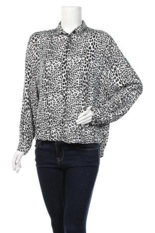 Дамска риза Yessica, Размер M, Цвят Черен, Вискоза, Цена 9,24лв.