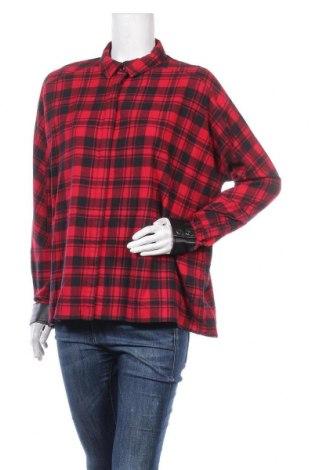 Дамска риза Zapa, Размер S, Цвят Червен, Памук, Цена 55,60лв.