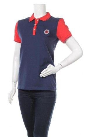 Дамска тениска, Размер XL, Цвят Син, 92% памук, 8% еластан, Цена 21,60лв.