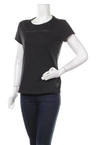 Γυναικείο t-shirt Adidas, Μέγεθος M, Χρώμα Μαύρο, 70% βαμβάκι, 30% πολυεστέρας, Τιμή 18,32€