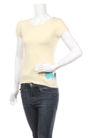 Дамска тениска Bergfieber, Размер S, Цвят Бежов, Памук, Цена 28,80лв.