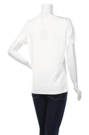 Дамска тениска Cop.copine, Размер L, Цвят Бял, 78% модал, 22% полиестер, Цена 17,94лв.
