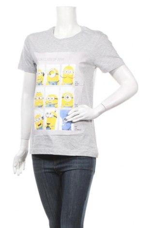 Дамска тениска Despicable Me, Размер S, Цвят Сив, 93% памук, 7% полиестер, Цена 28,80лв.