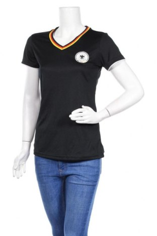 Дамска тениска Dfb, Размер S, Цвят Черен, Полиестер, Цена 4,40лв.