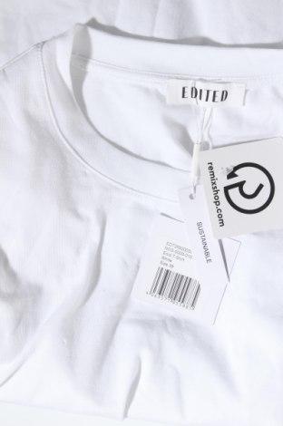 Дамска тениска Edited, Размер M, Цвят Бял, 95% памук, 5% еластан, Цена 22,62лв.