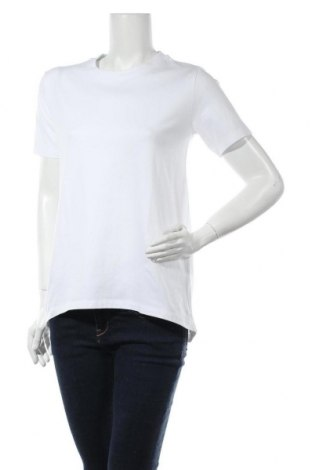 Дамска тениска Edited, Размер S, Цвят Бял, 95% памук, 5% еластан, Цена 22,62лв.