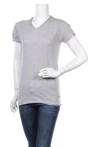 Дамска тениска Eleven Paris, Размер S, Цвят Сив, 95% памук, 5% полиестер, Цена 41,60лв.