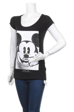 Дамска тениска Eleven Paris, Размер XS, Цвят Черен, 50% памук, 50% модал, Цена 59,25лв.