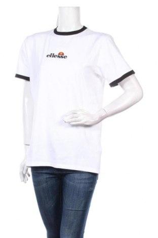 Дамска тениска Ellesse, Размер M, Цвят Бял, 95% памук, 5% еластан, Цена 30,42лв.