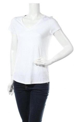 Дамска тениска Esprit, Размер M, Цвят Бял, 50% памук, 50% модал, Цена 20,80лв.