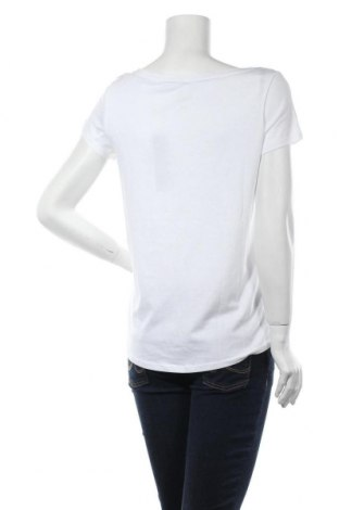 Дамска тениска Esprit, Размер M, Цвят Бял, 50% памук, 50% модал, Цена 20,28лв.