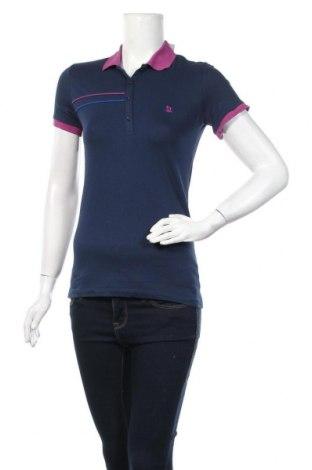 Дамска тениска Giorgio Di Mare, Размер M, Цвят Син, 95% памук, 5% еластан, Цена 39,50лв.