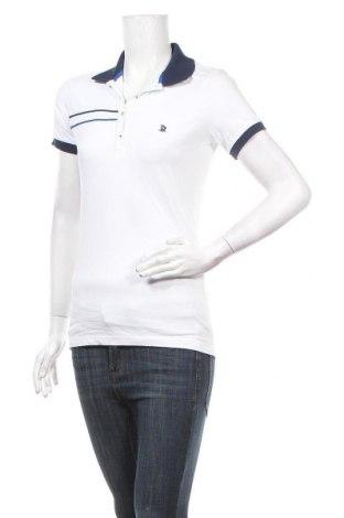 Дамска тениска Giorgio Di Mare, Размер L, Цвят Бял, 95% памук, 5% еластан, Цена 39,50лв.