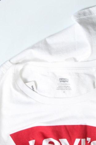 Дамска тениска Levi's, Размер M, Цвят Бял, Памук, Цена 40,88лв.