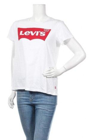 Дамска тениска Levi's, Размер L, Цвят Бял, Памук, Цена 40,88лв.
