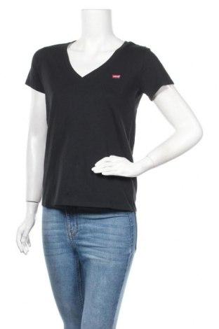Дамска тениска Levi's, Размер S, Цвят Син, Памук, Цена 46,02лв.