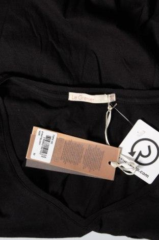 Дамска тениска Little Marcel, Размер M, Цвят Черен, 50% памук, 50% вискоза, Цена 16,00лв.