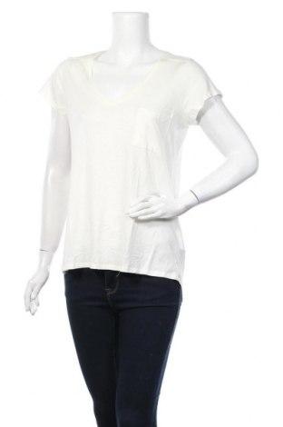 Дамска тениска Little Marcel, Размер XL, Цвят Екрю, 50% памук, 50% вискоза, Цена 22,62лв.