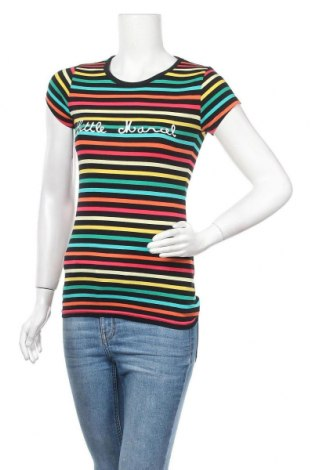 Дамска тениска Little Marcel, Размер XS, Цвят Черен, 95% памук, 5% еластан, Цена 22,40лв.