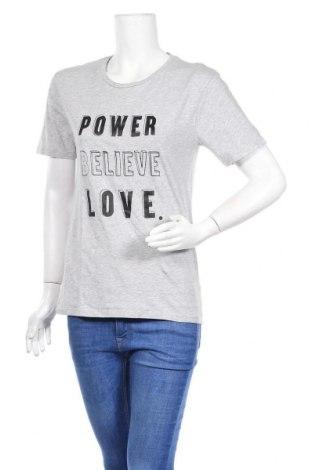 Дамска тениска Marks & Spencer, Размер S, Цвят Сив, Памук, Цена 10,50лв.