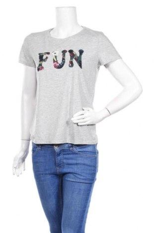 Дамска тениска Mohito, Размер S, Цвят Сив, Цена 21,00лв.