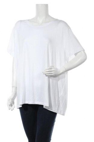 Дамска тениска Only Carmakoma, Размер XXL, Цвят Бял, 75% вискоза, 20% полиестер, 5% еластан, Цена 17,60лв.