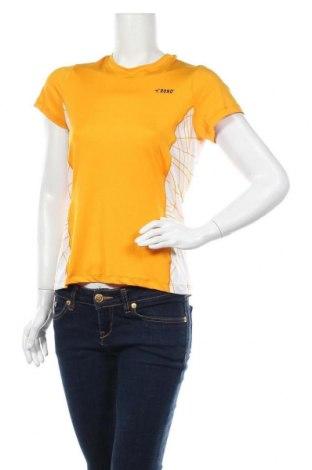 Дамска тениска Rono, Размер M, Цвят Жълт, 85% полиестер, 15% еластан, Цена 19,60лв.