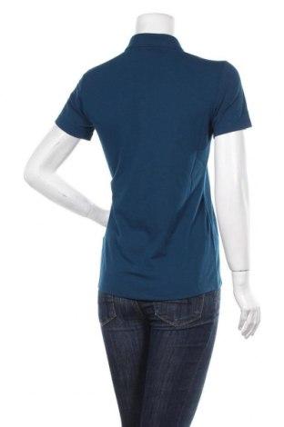 Дамска тениска Salewa, Размер S, Цвят Син, 81% полиестер, 14% памук, 5% еластан, Цена 53,82лв.