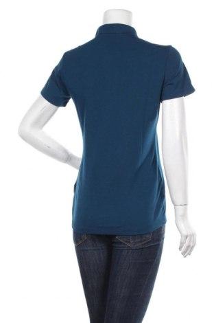 Дамска тениска Salewa, Размер M, Цвят Син, 81% полиестер, 14% памук, 5% еластан, Цена 53,82лв.