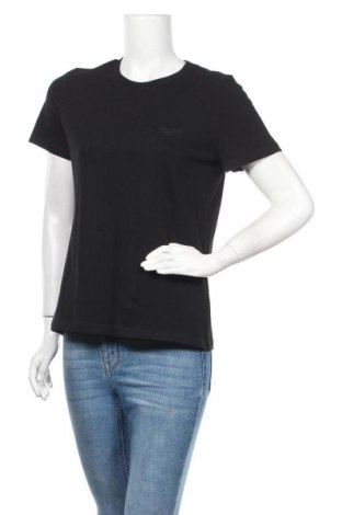 Дамска тениска Superdry, Размер S, Цвят Черен, Памук, Цена 20,16лв.