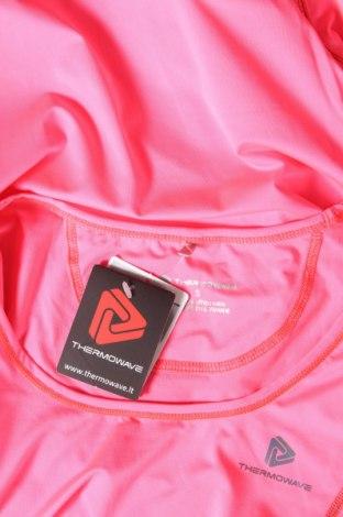 Дамска тениска Thermowave, Размер S, Цвят Розов, 86% полиестер, 14% еластан, Цена 17,15лв.