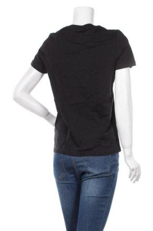Дамска тениска Tommy Hilfiger, Размер S, Цвят Черен, Памук, Цена 53,82лв.