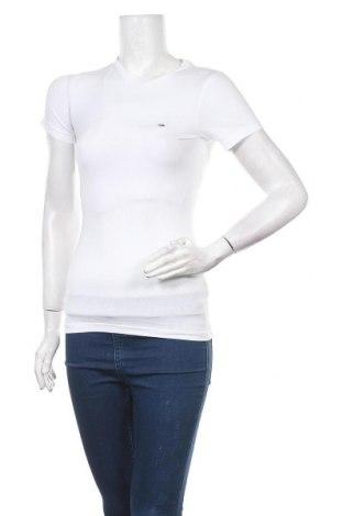 Дамска тениска Tommy Hilfiger, Размер XS, Цвят Бял, 95% памук, 5% еластан, Цена 66,75лв.