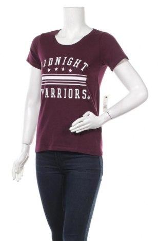 Γυναικείο t-shirt Volcom, Μέγεθος S, Χρώμα Βιολετί, Βαμβάκι, πολυεστέρας, Τιμή 28,46€