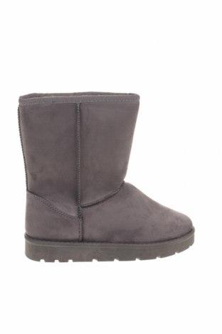 Γυναικείες μπότες, Μέγεθος 37, Χρώμα Γκρί, Κλωστοϋφαντουργικά προϊόντα, Τιμή 34,41€