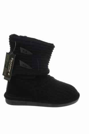 Γυναικείες μπότες Bearpaw, Μέγεθος 36, Χρώμα Μαύρο, Κλωστοϋφαντουργικά προϊόντα, φυσικό σουέτ, Τιμή 20,41€
