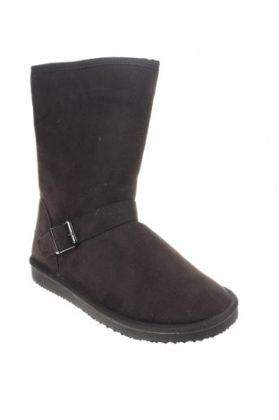 Γυναικείες μπότες Blackfield, Μέγεθος 38, Χρώμα Γκρί, Κλωστοϋφαντουργικά προϊόντα, Τιμή 10,18€