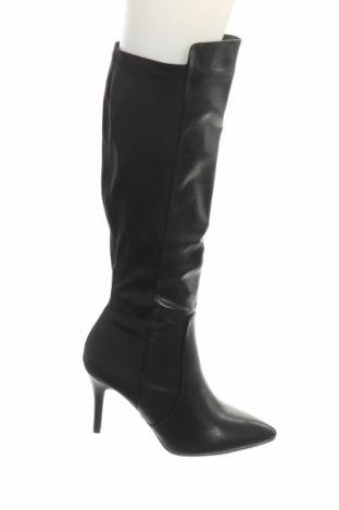Γυναικείες μπότες Coco Perla, Μέγεθος 40, Χρώμα Μαύρο, Δερματίνη, κλωστοϋφαντουργικά προϊόντα, Τιμή 12,76€