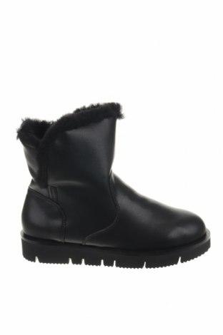 Γυναικείες μπότες Inuovo, Μέγεθος 36, Χρώμα Μαύρο, Γνήσιο δέρμα, Τιμή 32,78€
