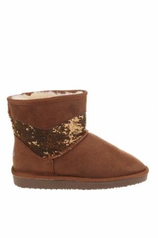Γυναικείες μπότες Island Boot, Μέγεθος 37, Χρώμα Καφέ, Κλωστοϋφαντουργικά προϊόντα, Τιμή 33,10€