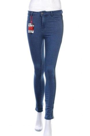 Γυναικείο Τζίν Be Cool, Μέγεθος XS, Χρώμα Μπλέ, 77% βαμβάκι, 21% πολυεστέρας, 2% ελαστάνη, Τιμή 15,20€