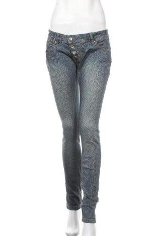 Дамски дънки Buena Vista, Размер S, Цвят Син, 98% памук, 2% еластан, Цена 7,62лв.
