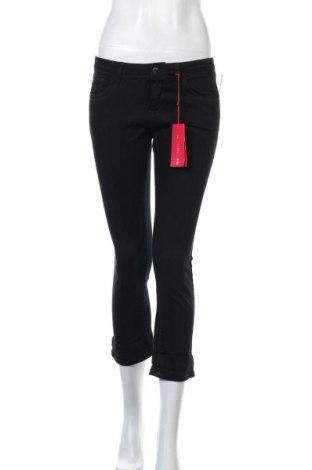 Дамски дънки Camaieu, Размер M, Цвят Черен, 99% памук, 1% еластан, Цена 15,50лв.