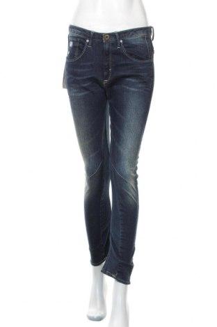 Дамски дънки G-Star Raw, Размер S, Цвят Син, 99% памук, 1% еластан, Цена 41,59лв.