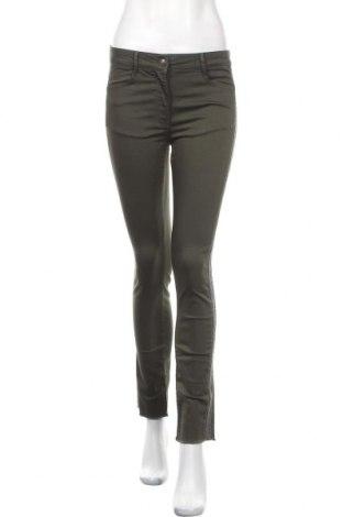 Дамски дънки Lauren Vidal, Размер XS, Цвят Зелен, 65% памук, 32% полиестер, 3% еластан, Цена 29,80лв.