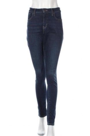 Дамски дънки Levi's, Размер XL, Цвят Син, 85% памук, 9% полиестер, 6% еластан, Цена 69,50лв.