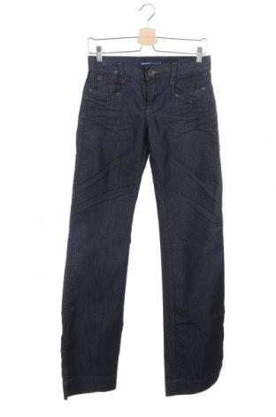 Дамски дънки Miss Sixty, Размер XS, Цвят Син, 70% памук, 30% полиамид, Цена 24,70лв.