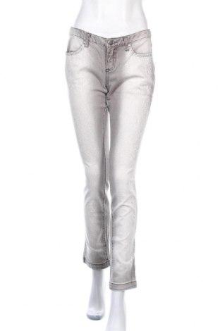 Γυναικείο Τζίν Rainbow, Μέγεθος M, Χρώμα Γκρί, 97% βαμβάκι, 3% ελαστάνη, Τιμή 7,60€
