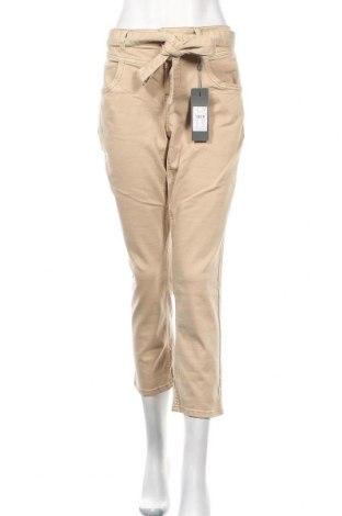 Dámské džíny  Street One, Velikost XL, Barva Béžová, 55% bavlna, 21% polyester, 14% lyocell, 9% viskóza, 1% elastan, Cena  410,00Kč